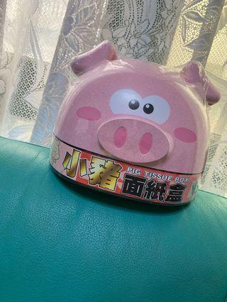 小豬造型衛生紙盒