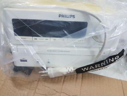 🚚 Philips mini hifi set
