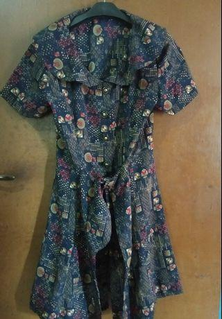 Dress batik #mauvivo