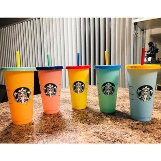Starbucks cold cup tumblers