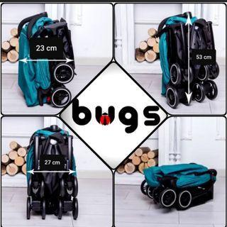 Brand new Bugs recliner stroller (flight cabin friendly)