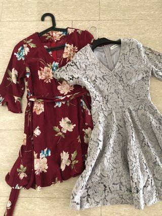 Kimono wrap dresses
