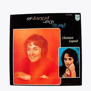 Vinyl Christian Legrand in Of Smiles and Tears (Pop/Latin)