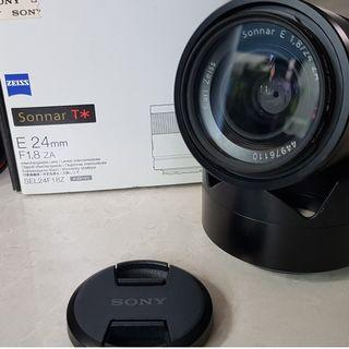 Sony Zeiss 24mm F1.8 E-mount (for APS-C)