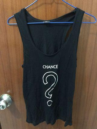 ALL NEW Monopoly Chance Tank Top in Size M [全新中碼大富翁機會背心]