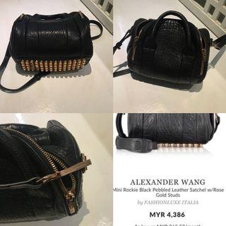 Alexander wang Rockie rose gold authentic / nego