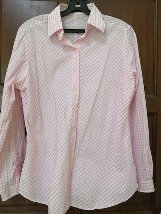 [Any 2 for RM25] Pink Formal Shirt