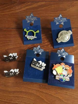 Universal Studios Trading pins