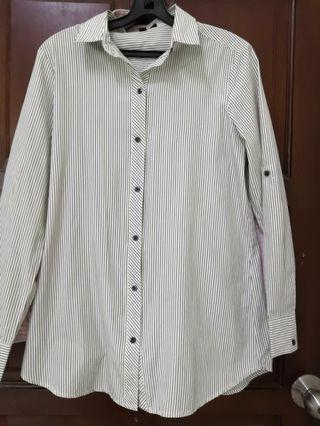 [Any 2 for RM25] Stripe Formal Shirt