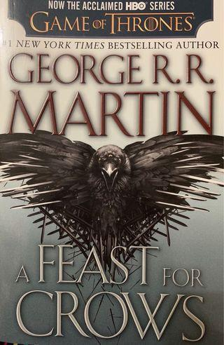 A Game of Thrones: a Feast For Crows