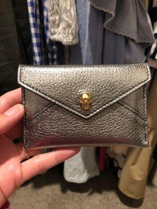 Authentic Alexander Mcqueen cardholder