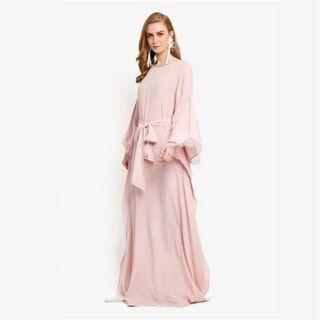 PRE💟 PRELOVED LUBNA Soft Pink Kaftan