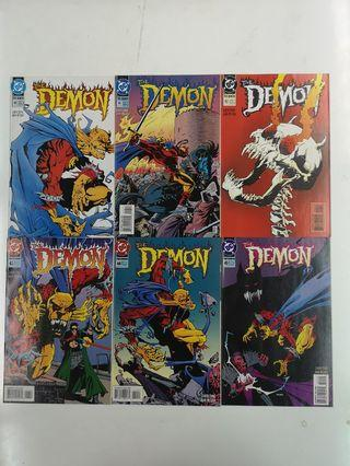 Demon Hell's Hitman (1990 3rd Series) Comics Set