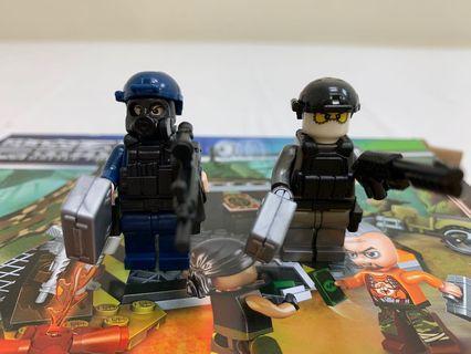 叢林絕密交易(兼容Lego)