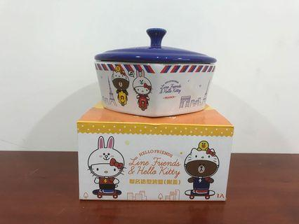 🚚 7-11 Line friends&Hello kitty 聯名造型烤盤1入
