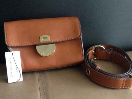 #mauvivo Charles n Keith Sling Bag