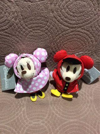 DisneyMinnie and Mickey掛飾 一個$50兩個$80