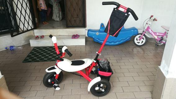 Tricycle (With Carrier Handle)