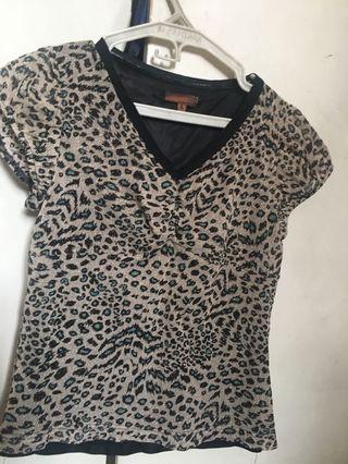 Leopard Skin Top