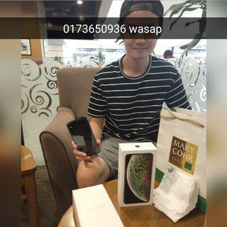 iPhone Xs Max 512 GB 4399 RM Only Baru Original Sealed Box