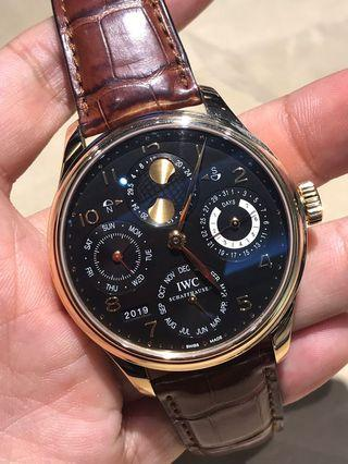 IWC Perpetual RG (just out from service)