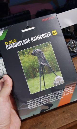 Raincover for DSLR MATIN CAMOUFLAGE COVER MEDIUM FOR DSLR CAMERA M-7091