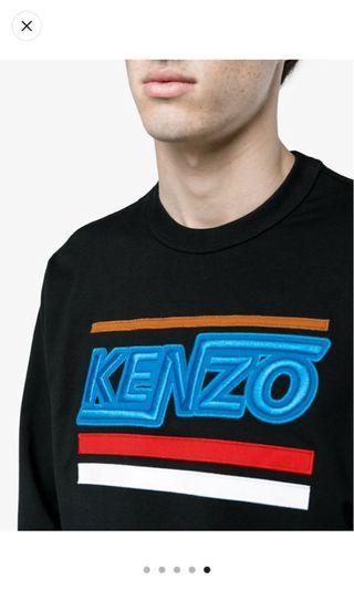 Hyper Kenzo Long sleeve sweatshirt