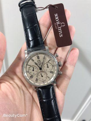 復古鐵達時1887高級系列機械錶,全新原廠正貨兩年保養