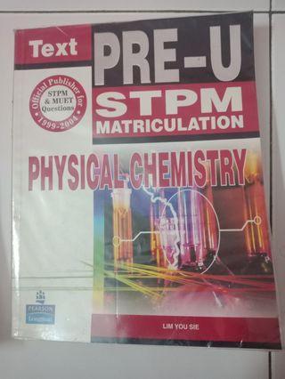 Physical chemistry textbook