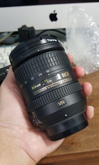 Nikon AF-S NIKKOR 16-85mm