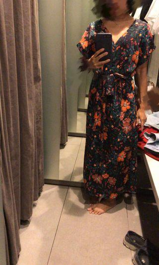 Zara Flora Long Dress