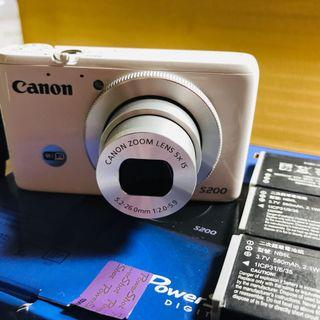 Canon PowerShot S200白色