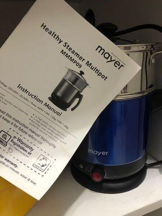 Mayer Electric Multipot MMMP09 steamer boiler