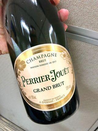 知名香檳Perrier Jouet 巴黎之花