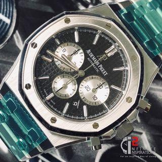 Audemars Piquet 26331ST Chrono Black Dial - Brand New Complete Set.