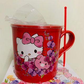 🚚 三麗鷗植栽 陶瓷杯組