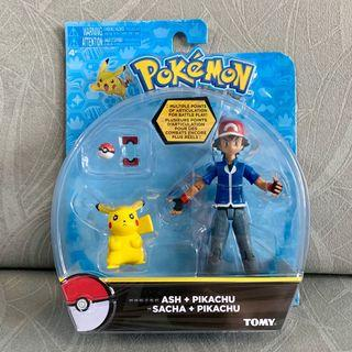 Tomy Pokemon Ash & Pikachu