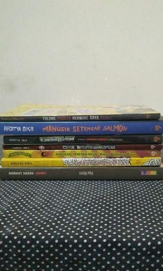 TAKE ALL Novel Raditya Dika
