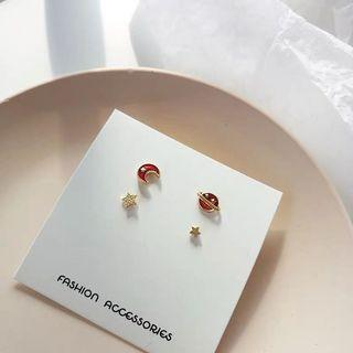 Fashion Earrings 4pcs