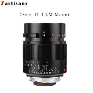7 artisan 28mm F1.4 M Mount Leica