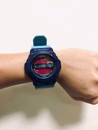 藍色運動g-shock錶