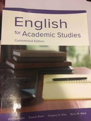 English for Academic Studies