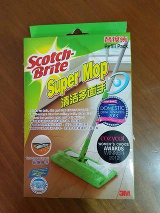 🚚 Scotch Brite Super Mop Refill