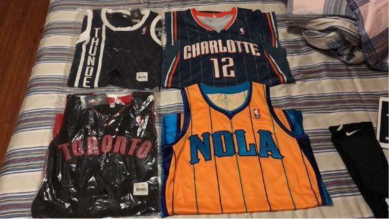 Adidas NBA球員版R30 白板波衫