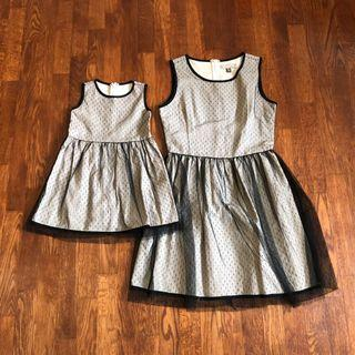 L'ZZIE Mummy and Daughter dress set