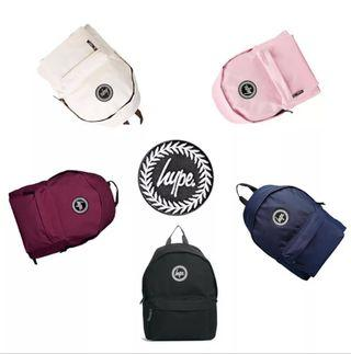 🚚 100 % authentic hype Backpack (Pre order)