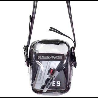 🚚 Places + Faces Transparent Sling Bag (Brand new and instocks)