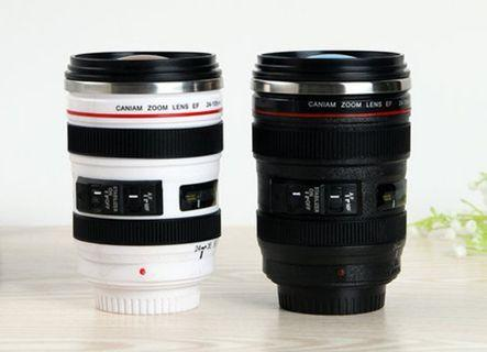 [READY STOCK]❗❗HOT DEAL❗❗Stainless Steel Camera Lens Mug