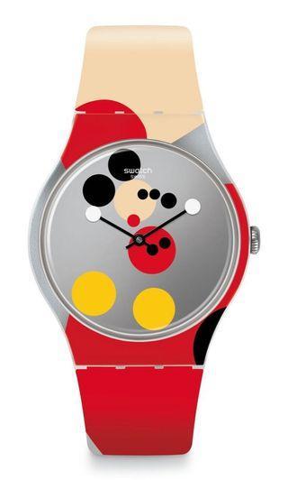 Swatch x Damien Hirst 米奇90週年限量錶