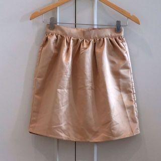 Golden skirt size S